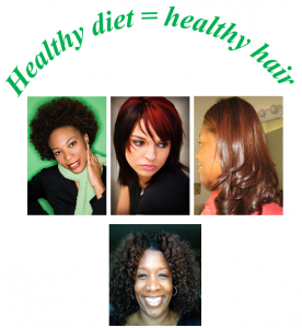 Collage of Healthy Hair3